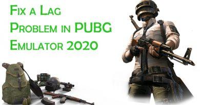 Lag Problem in PUBG