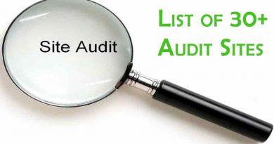 Audit Sites