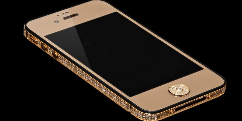 Stuart Hughes 's Black Diamond iPhone 5