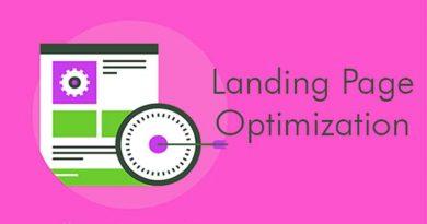Optimize Website Landing Page