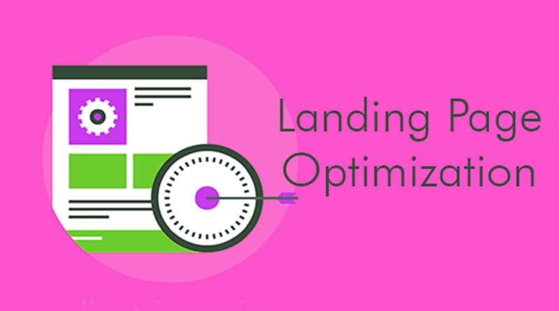 Optimize Website Landing Page
