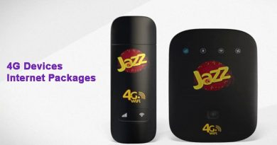 Jazz 4G Devices Internet Packages