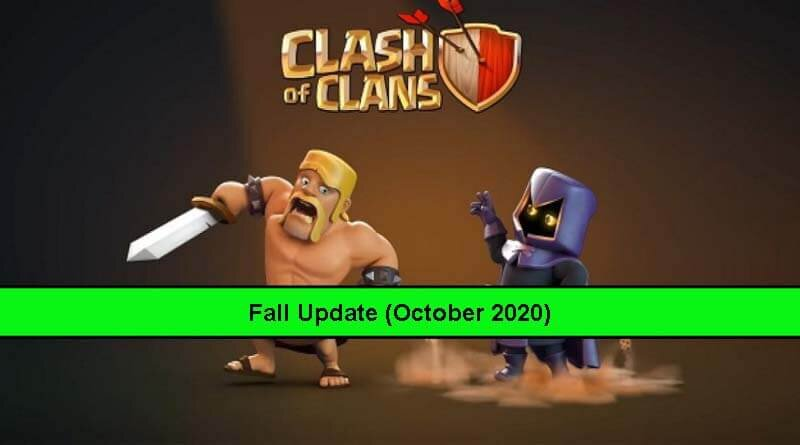Clash of Clans Fall Update