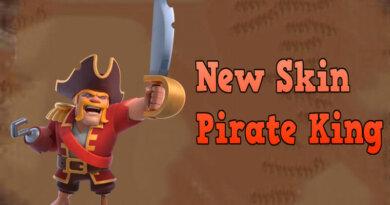 New Skin Pirate King November 2020