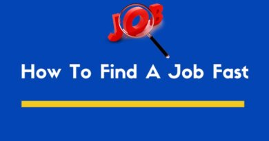 How to Find a Job Fast