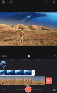 Line up clips with Speed and Keyframes