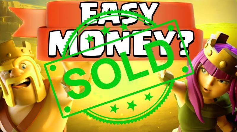 How to Make 100% real Money from Clash of Clans game