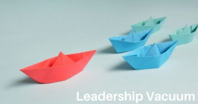 The Basic Law of the Leadership Vacuum