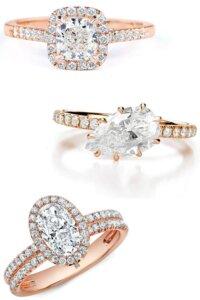 white or brown diamonds